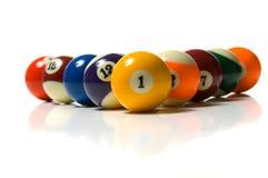 Pool Ball on white royalty free stock photo