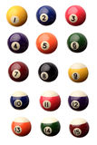 Pool balls Stock Photography