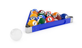 Pool balls Stock Photos