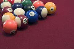 Pool Balls. Pool table balls Royalty Free Stock Photography