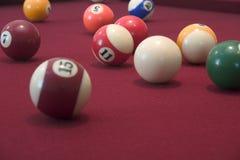 Pool Balls. Pool table balls Stock Photography