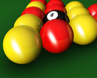 Pool balls Royalty Free Stock Photos