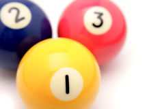 Pool balls Royalty Free Stock Photo