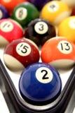 Pool balls Royalty Free Stock Photography