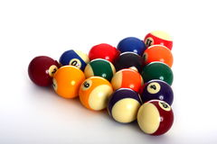 Pool Balls and no triangle stock photos