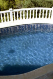 Pool and balustrade Stock Photos