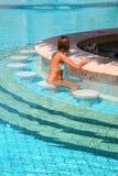 Pool bar Royalty Free Stock Image