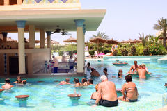 Pool bar Stock Images