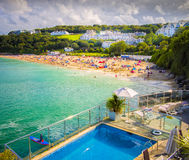 Pool, Beach, St. Ives, Cornwall, England Royalty Free Stock Photography