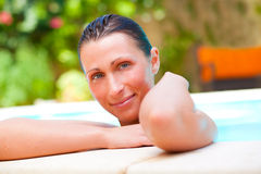 Pool beauty Royalty Free Stock Photography