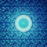 Pool-Beleuchtung unter Verwendung LED unter Wasser vektor abbildung