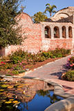 Pool Bells Mission San Juan Capistrano Ruins Royalty Free Stock Photo