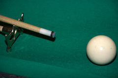 Pool Billard Stockfoto