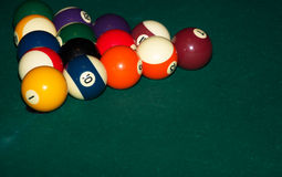 Pool Billard Stock Photo