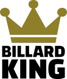 Pool Billard King Royalty Free Stock Photo