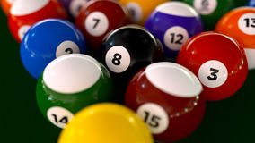 Pool/Billiard Balls Stock Photos