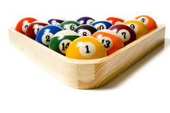 Pool or Billiard Balls Royalty Free Stock Photo