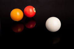 Pool or Billiard Balls Stock Photography
