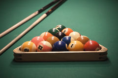 Pool (billiard) game Royalty Free Stock Image