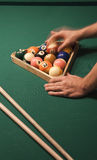 Pool (billiard) game Royalty Free Stock Images