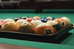 Pool (billiard) game Royalty Free Stock Photo