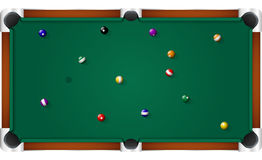 Pool Billiard Table Royalty Free Stock Image