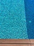 Pool. Blue swimming pool Stock Image