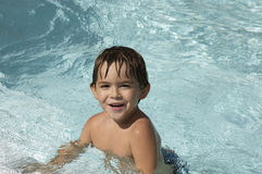 Pool boy Stock Photos