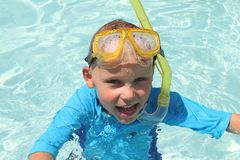 Pool Boy Royalty Free Stock Image