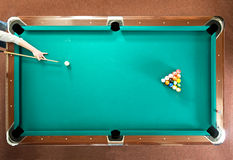 Pool break Stock Image