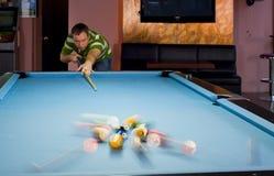 Pool break Stock Image