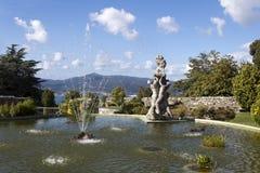 Pool in Castro Mount in Vigo royalty-vrije stock fotografie