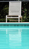 Pool Chair Royalty Free Stock Photos