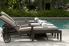 Pool Chair Stock Photos