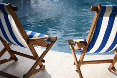 Pool Chairs royalty free stock images