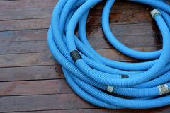 Pool Cleaning pipe stock photos