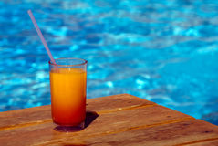Pool cocktail Royalty Free Stock Images
