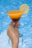 Pool Cocktail Royalty Free Stock Photo