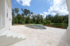 Pool Construction Royalty Free Stock Images
