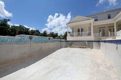 Pool Construction Royalty Free Stock Photos