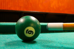 Pool cue Stock Image