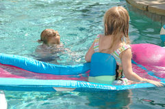 Pool Dangers Royalty Free Stock Images
