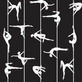 Pool-danser Royalty-vrije Stock Afbeeldingen
