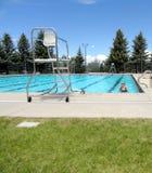 Pool day. Stock Photos