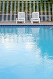 Pool deck Royalty Free Stock Photography