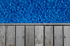 Pool deck Stock Photography