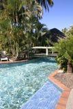Pool der Rücksortierung 65.Tropical, Queensland, Australien Lizenzfreie Stockfotografie