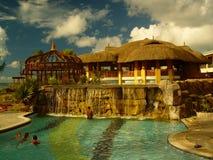 Pool in der Rücksortierung, Mauritius Stockbild