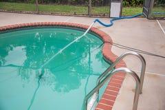 Pool Draining Royalty Free Stock Photos