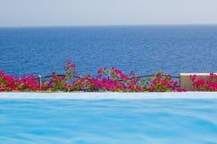 Pool durch das Meer Lizenzfreie Stockbilder